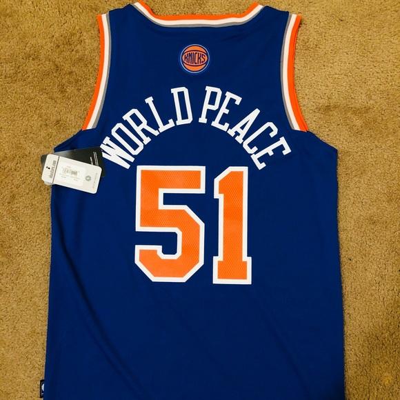 NWT! NBA ADIDAS SWINGMAN METTA WORLD PEACE JERSEY